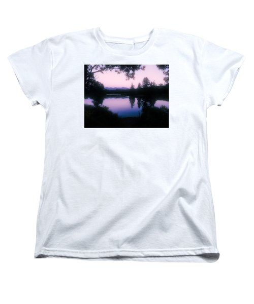 Summer Evening In New Hampshire Women's T-Shirt (Standard Cut) by Robin Regan