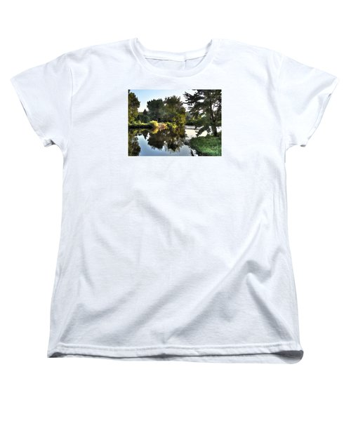 Women's T-Shirt (Standard Cut) featuring the photograph Summer Still by Betsy Zimmerli