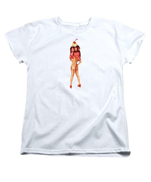 Sundae Best IIi Women's T-Shirt (Standard Cut) by Kelly Gilleran