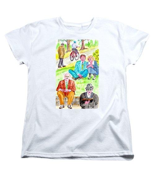 Sunday Morning In Prospect Park Women's T-Shirt (Standard Cut)