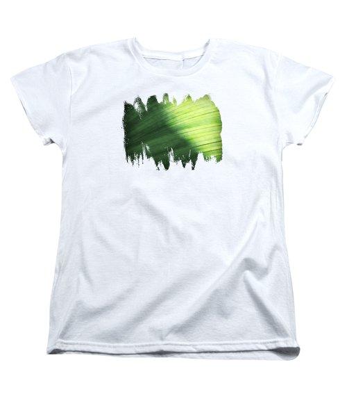Sunlit Palm Women's T-Shirt (Standard Cut) by Anita Faye