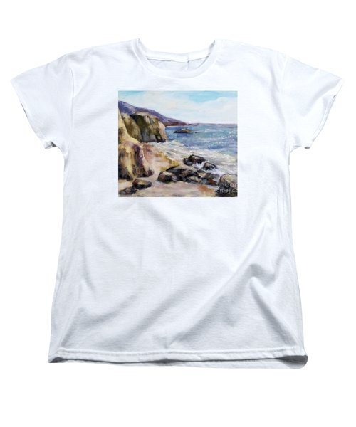 Sunny Coast Women's T-Shirt (Standard Cut) by William Reed