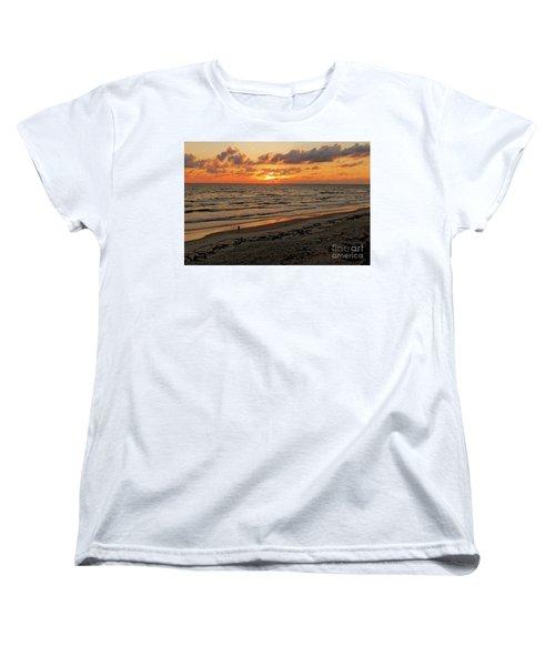 Sunrise Daytona Women's T-Shirt (Standard Cut) by Paul Mashburn