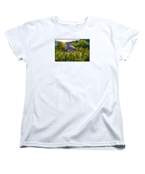 Sunrise On The Farm Women's T-Shirt (Standard Cut) by R Thomas Berner