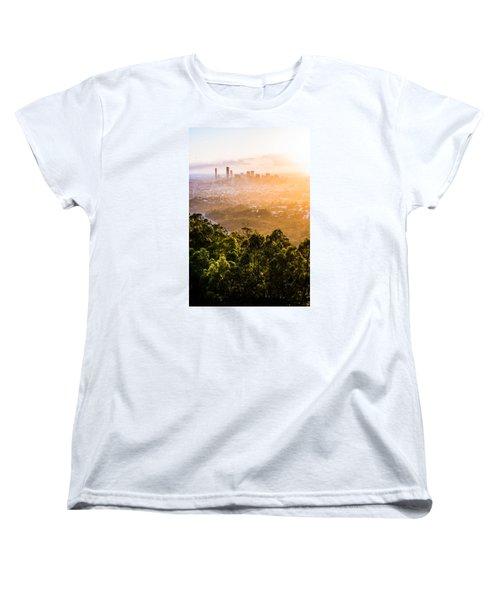 Sunrise Over Brisbane Women's T-Shirt (Standard Cut) by Parker Cunningham