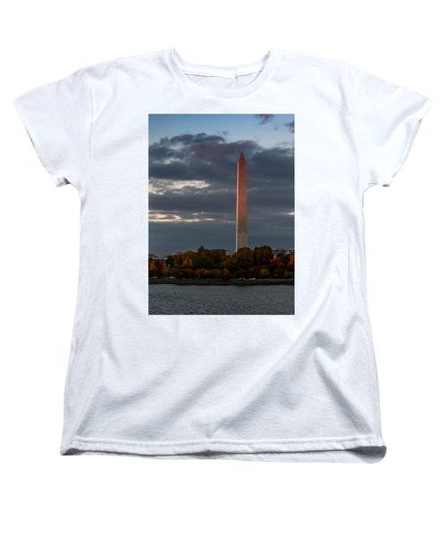 Sunset Glow Women's T-Shirt (Standard Cut) by Ed Clark