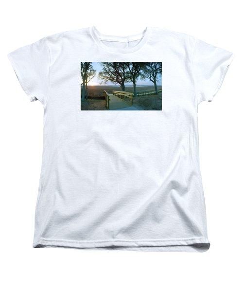 Sunset Over The Sound Women's T-Shirt (Standard Cut)