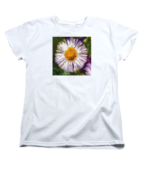 Supernove Daisy Women's T-Shirt (Standard Cut) by Spyder Webb