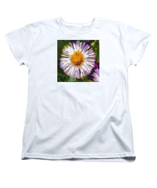 Women's T-Shirt (Standard Cut) featuring the photograph Supernove Daisy by Spyder Webb