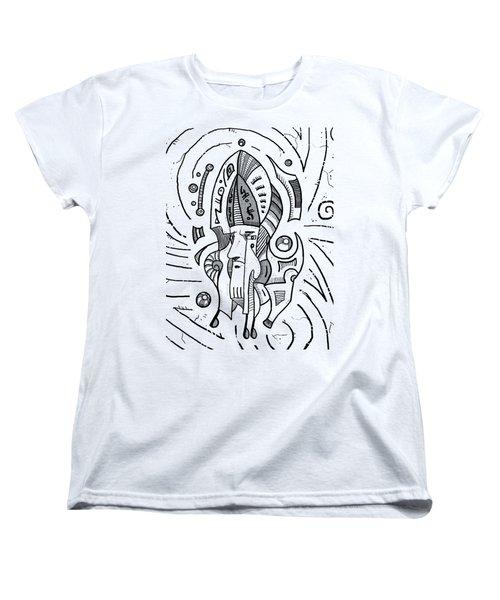 Surrealist Head Women's T-Shirt (Standard Cut) by Sotuland Art