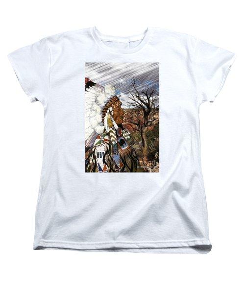 Sw Indian Women's T-Shirt (Standard Cut) by Liane Wright