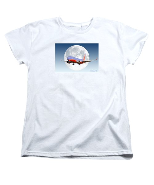 Sw Moon Women's T-Shirt (Standard Cut) by Brian Wallace