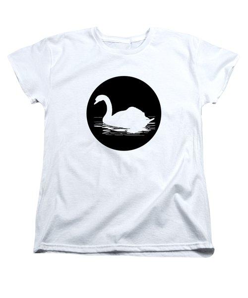 Swan Women's T-Shirt (Standard Cut) by Mordax Furittus