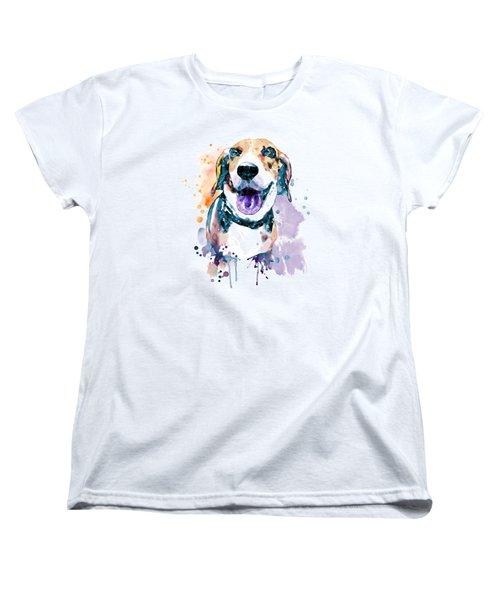 Sweet Beagle Women's T-Shirt (Standard Fit)