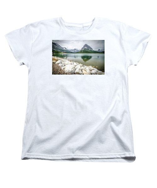 Swiftcurrent Lake Women's T-Shirt (Standard Cut)