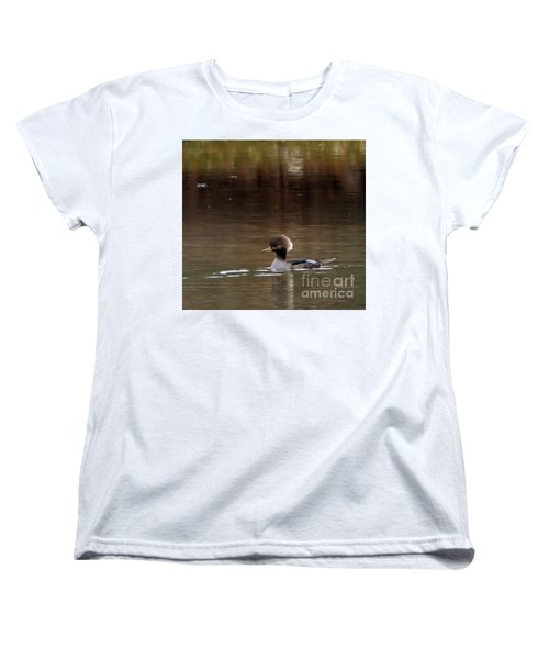 Women's T-Shirt (Standard Cut) featuring the photograph Swimming Alone by Tamera James
