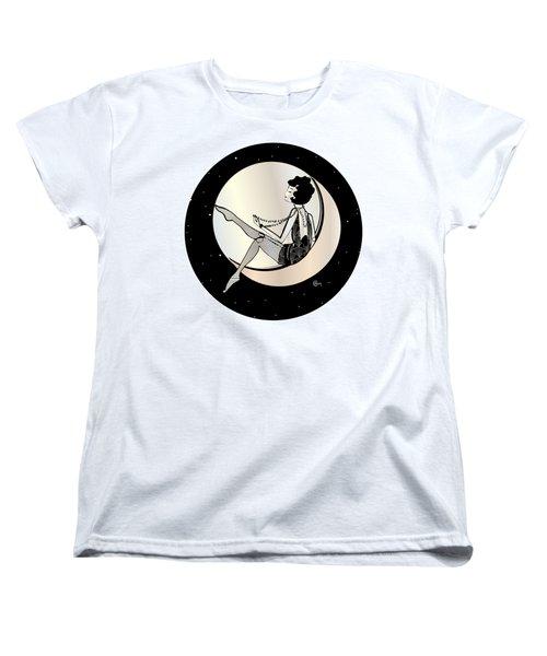 Swinging On The Moon Women's T-Shirt (Standard Fit)