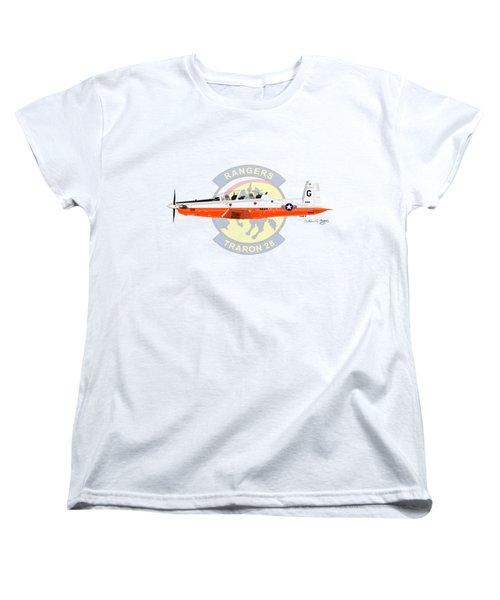 T-6b Texan II Vt28 Women's T-Shirt (Standard Cut) by Arthur Eggers