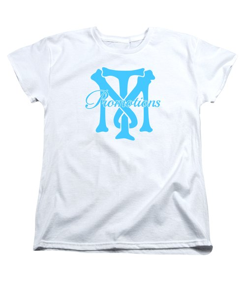 Women's T-Shirt (Standard Cut) featuring the drawing T And M Promotions Logo by Nicholas Grunas