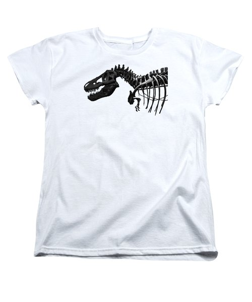 T-rex Women's T-Shirt (Standard Cut) by Martin Newman