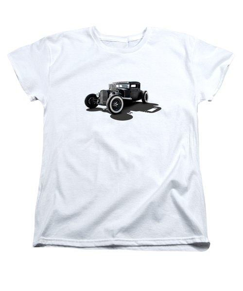 T Rex Women's T-Shirt (Standard Cut) by Douglas Pittman
