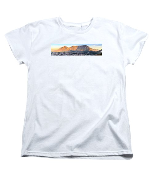 Women's T-Shirt (Standard Cut) featuring the photograph Table Mountain by Alexey Stiop