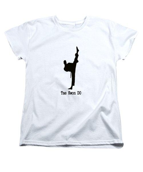Tae Kwon Do T-shirt Women's T-Shirt (Standard Cut) by Pat Cook