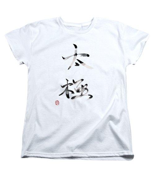 Tai Chi Women's T-Shirt (Standard Cut) by Oiyee At Oystudio
