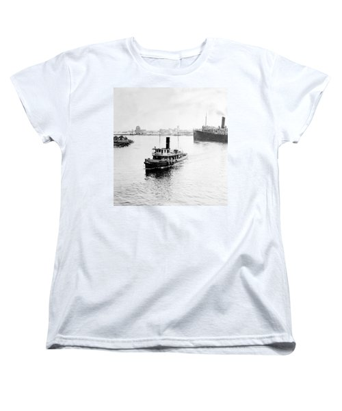 Tampa Florida - Harbor - C 1926 Women's T-Shirt (Standard Cut) by International  Images