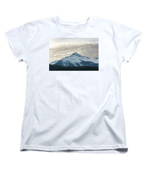 Tantalus Mountain Range Closeup Women's T-Shirt (Standard Fit)