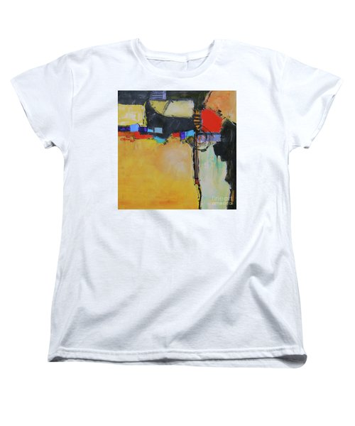 Targeted Women's T-Shirt (Standard Cut) by Ron Stephens