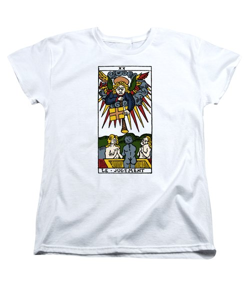 Tarot Card Judgement Women's T-Shirt (Standard Cut) by Granger