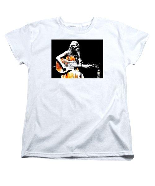 Taylor Swift 9s Women's T-Shirt (Standard Cut) by Brian Reaves