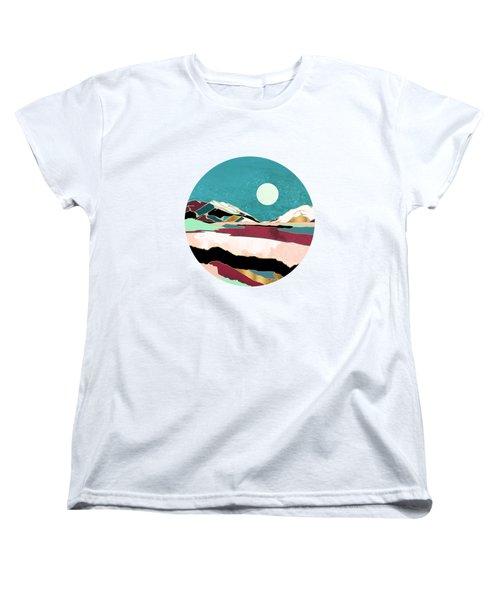 Teal Sky Women's T-Shirt (Standard Fit)
