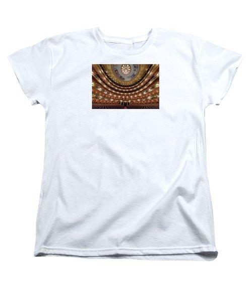 Teatro Colon Performers View Women's T-Shirt (Standard Cut)