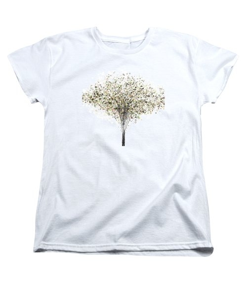 technology Abstract Women's T-Shirt (Standard Cut) by Setsiri Silapasuwanchai