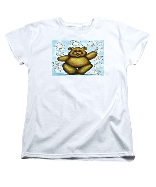 Teddy Bear Women's T-Shirt (Standard Cut) by Kevin Middleton