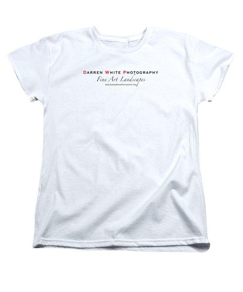 Women's T-Shirt (Standard Cut) featuring the photograph Teeshirt Logo by Darren  White