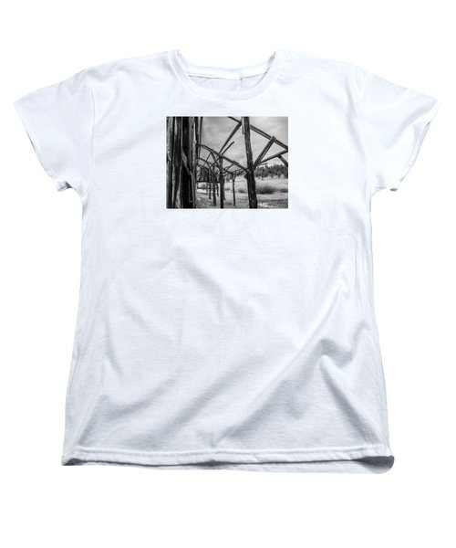 Women's T-Shirt (Standard Cut) featuring the photograph Testament by Rhys Arithson