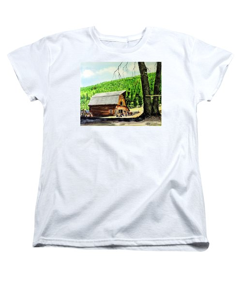 That Barn From That Movie Women's T-Shirt (Standard Cut) by Tom Riggs