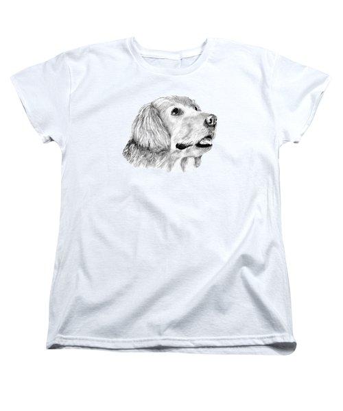 The Amanda Look Women's T-Shirt (Standard Cut) by John Stuart Webbstock
