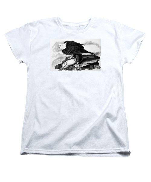 The Bald Eagle Women's T-Shirt (Standard Cut) by Granger
