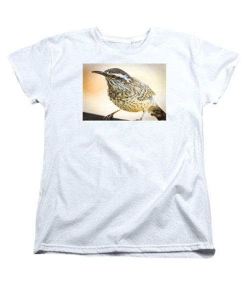 The Cactus Wren  Women's T-Shirt (Standard Cut) by Saija  Lehtonen