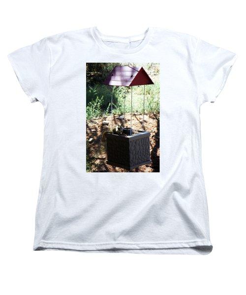 The Chipmunk And The Well Women's T-Shirt (Standard Cut) by Joseph Frank Baraba