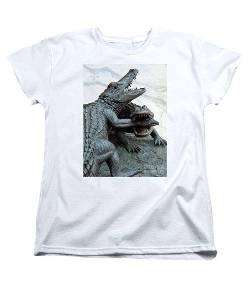 The Chomp Women's T-Shirt (Standard Cut) by D Hackett