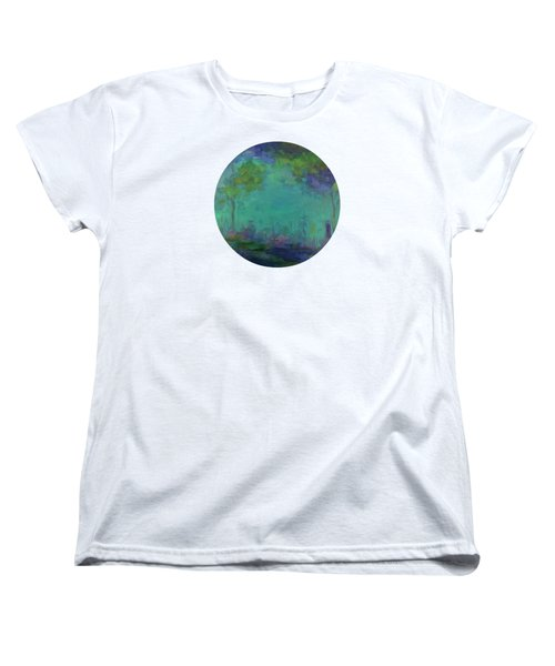The City In The Distance Women's T-Shirt (Standard Cut) by Mary Wolf