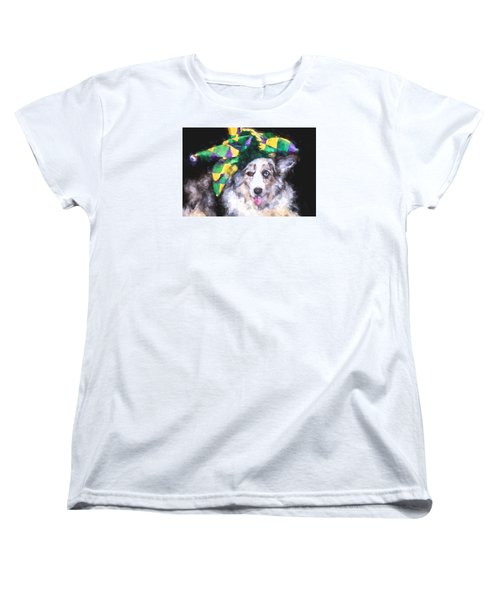 Women's T-Shirt (Standard Cut) featuring the photograph The Court Jester by Cathy Donohoue