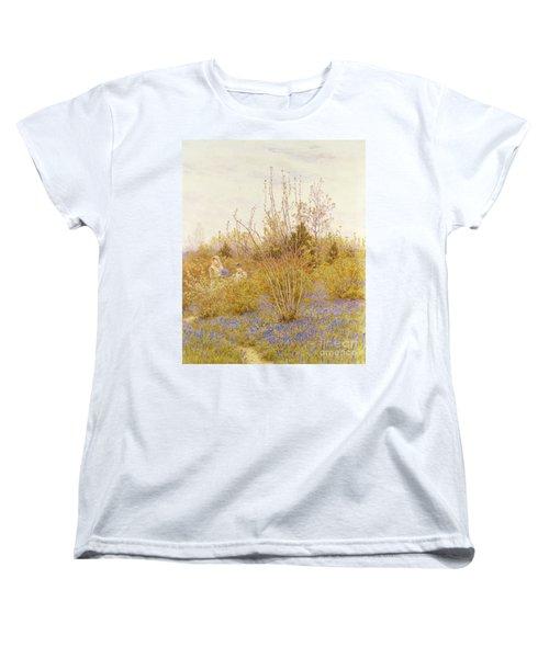 The Cuckoo Women's T-Shirt (Standard Cut) by Helen Allingham