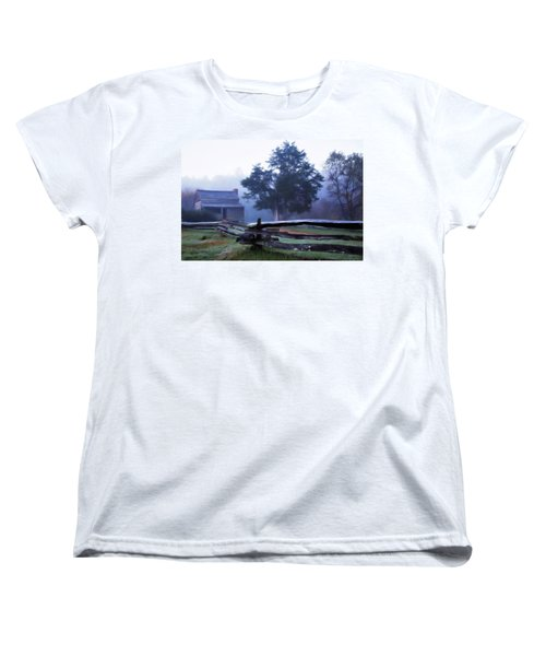Women's T-Shirt (Standard Cut) featuring the photograph The Dan Lawson Place by Lana Trussell