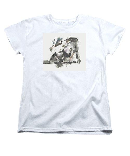 Women's T-Shirt (Standard Cut) featuring the digital art The Dancer by Galen Valle